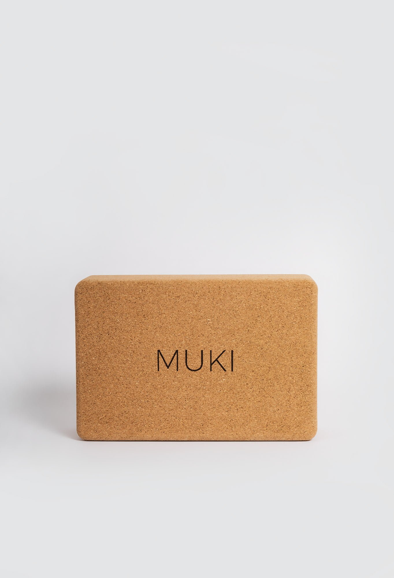 Muki cork yoga block