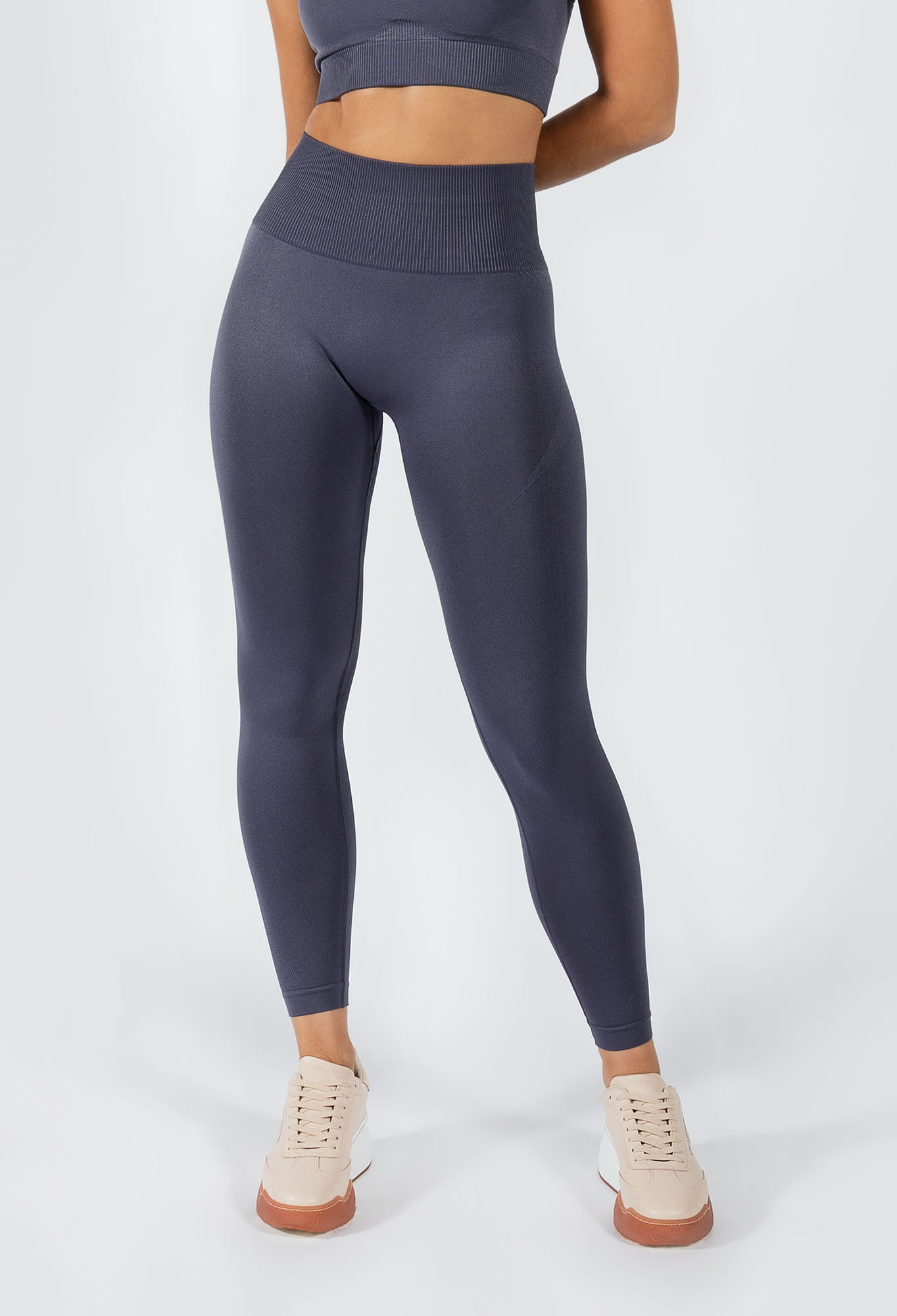 Muki women's yoga pants in grey colour