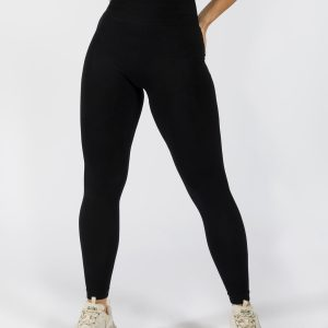 Muki women's yoga pant in black colour