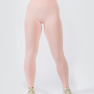 Muki seamless legging in pink colour