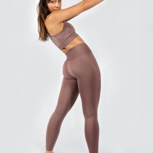 Seamless Yoga Set in Champagne