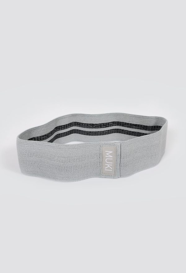 Heavy Fabric Resistance Band in Grey