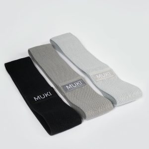 Three Pack Fabric Resistance Bands