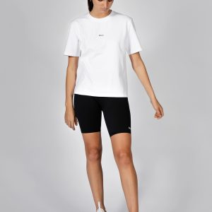 MUKI Relaxed Tee in White