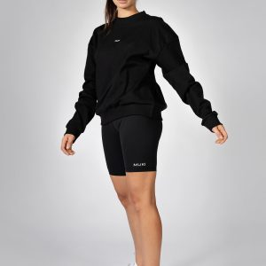 MUKI Oversized Sweatshirt in Black