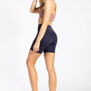 Second Skin Biker Short in Navy