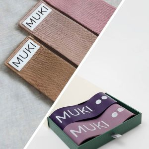 fabric resistance bands and booty bands from muki