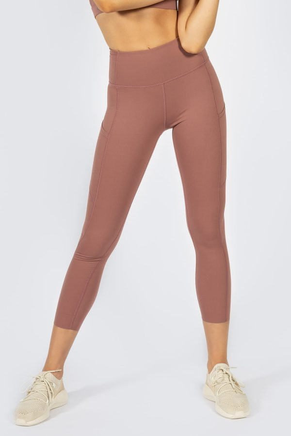 Soft Touch Legging in Dusty Rose